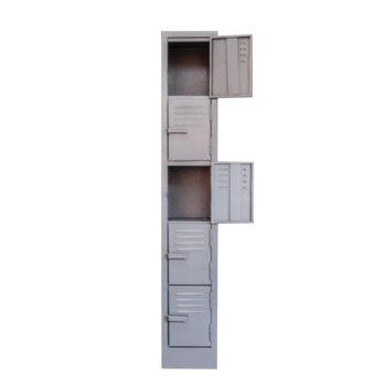 5 Compartment Locker