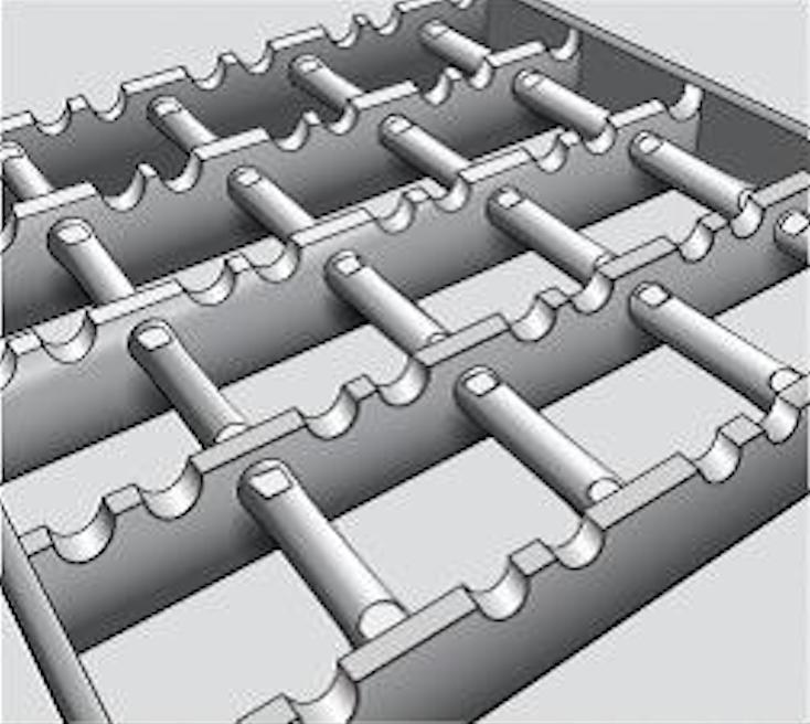 Non Slip Steel Grating